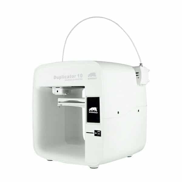 Wanhao Duplicator D10 is a 3D printer for your kids, family and beginners
