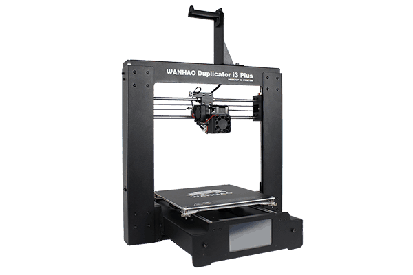 The entire frame is made from metal making it a strong and stable printer