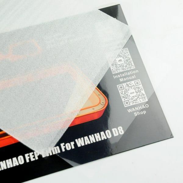FEP Film for Wanhao Duplicator 8
