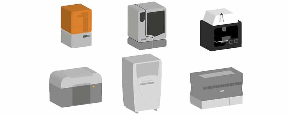 3D Printer มีกี่ประเภท อะไรบ้าง