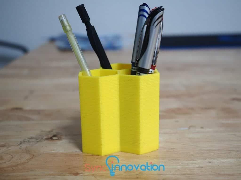 DIY Project ด้วย 3D Printer #1 ที่ใส่เครื่องเขียน