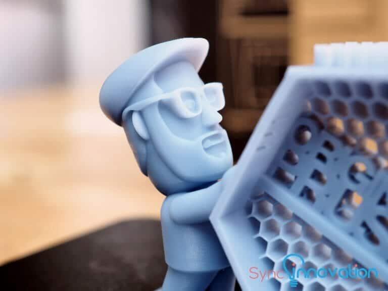 resin 3d printer sample