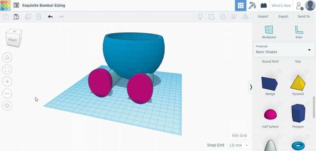 DIY Project ด้วย 3D Printer #4 กระถางต้นไม้
