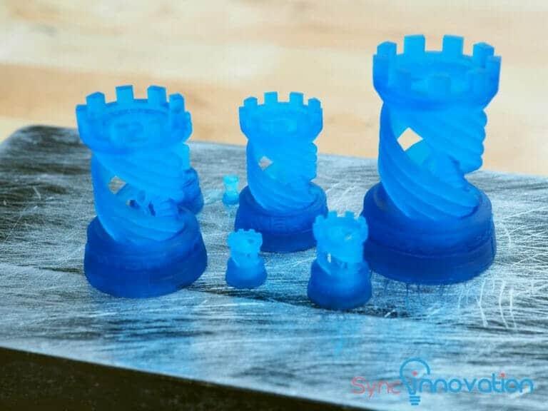 LCD 3D Printer Dimenstion error