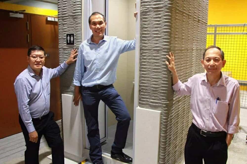 สร้างห้องน้ำจากเครื่อง 3D Printer เสร็จภายใน 12 ชั่วโมง