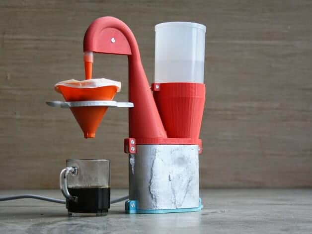Electric Coffee Maker 3D Printing