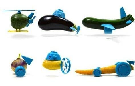 3d printing Veggie Toys