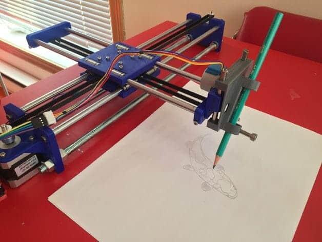 Drawing Machine 3D Printing