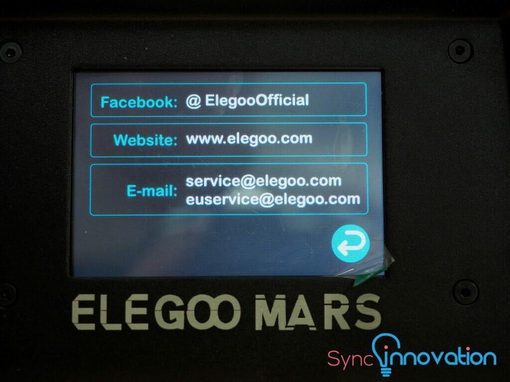 Elegoo Mats Display help