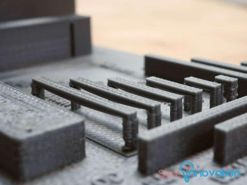 FDM 3D Printer Bridge test
