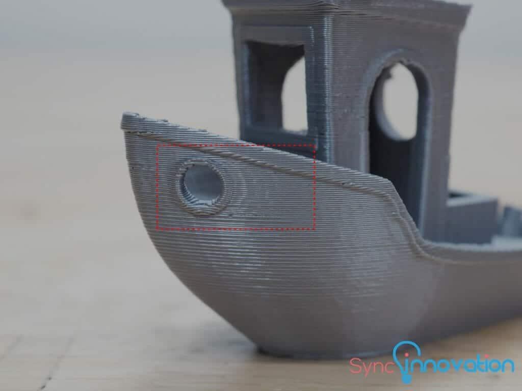 FDM 3D Printer Ghostring