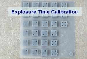 explosure time finding test