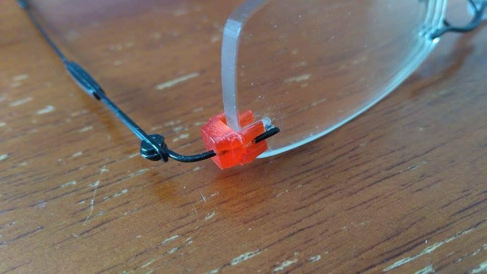 3d print Repair Broken Glasses