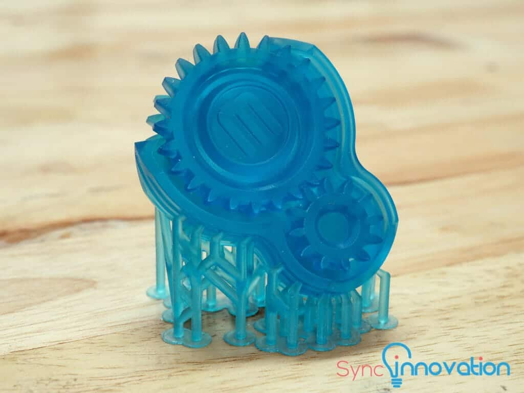 Engineering part from SLA 3D Printer