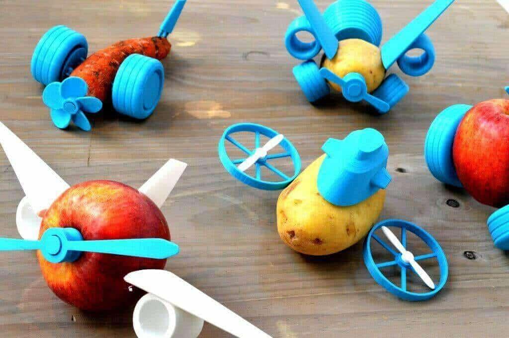 Veggie Toys 3d printer