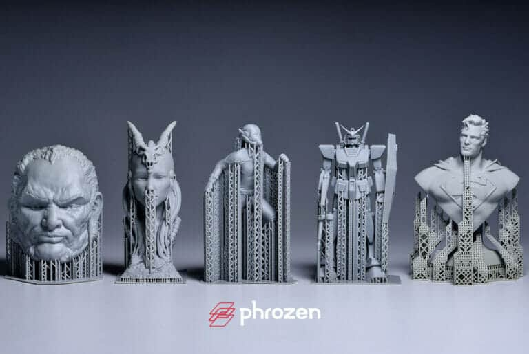 Phrozen XL print sample 2