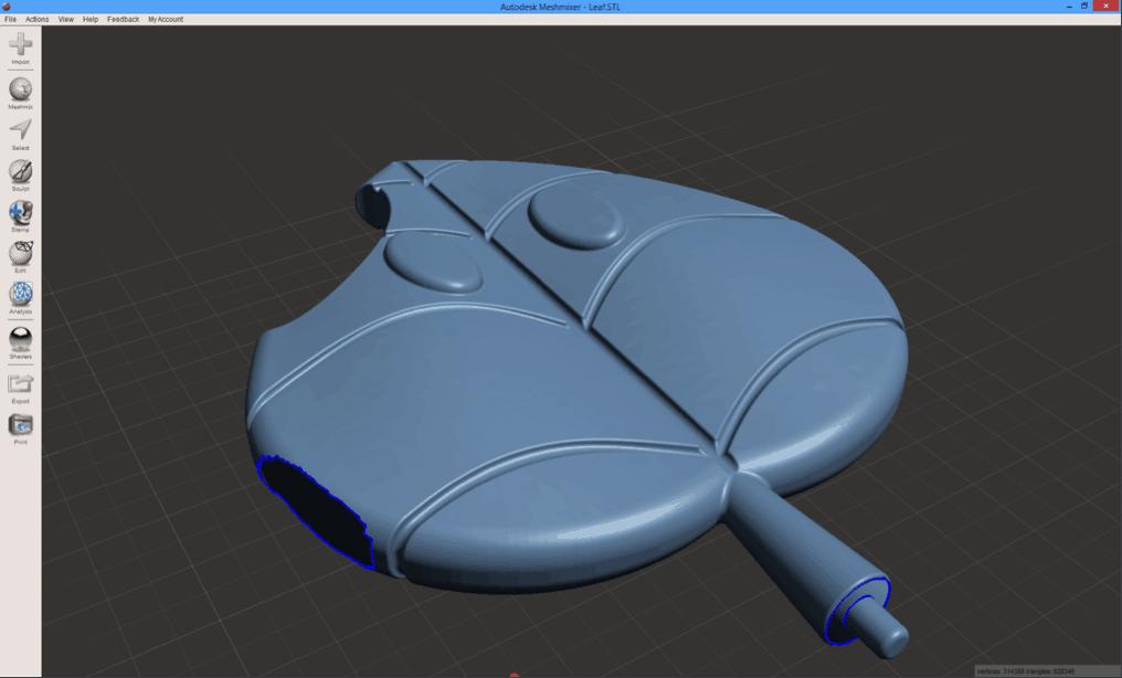 การซ่อมไฟล์ 3D Model STL เพื่อใช้กับเครื่อง 3D Printer