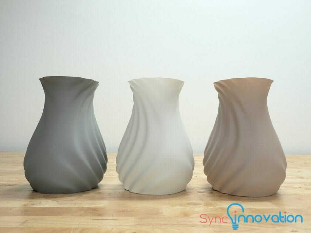 Watertight Vase from FDM 3D Printing