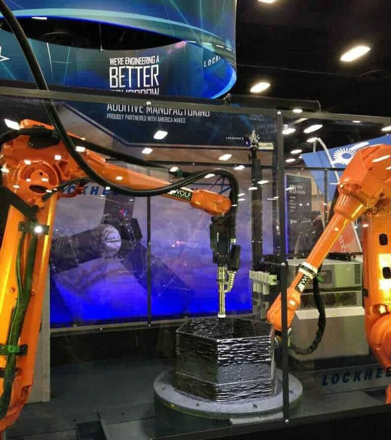 Metal 3D Printer robot arm