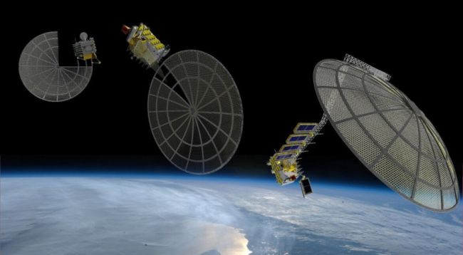 3D Printing for Industrial Spacecrafts