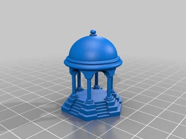 Calibration temple 3d model
