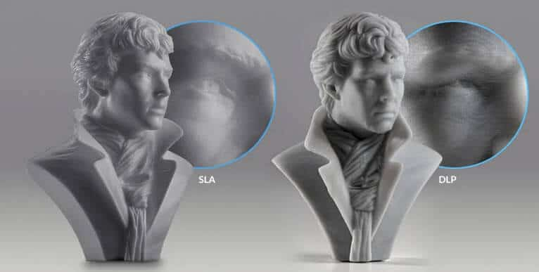 SLA vs DLP 3D Printer