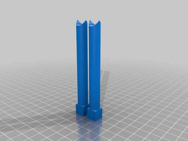 Z Axis Alignment Posts 3d modeling