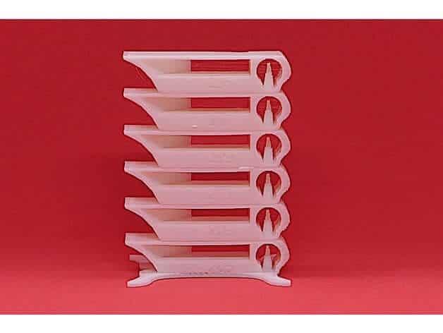 temperature calibration tower 3D Models to Print