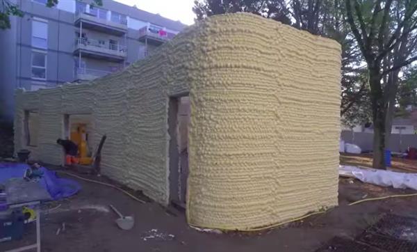 France 3D printed Yhnova house