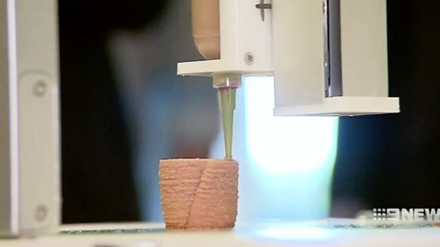 7 ตัวอย่างอาหารที่ผลิตโดยเครื่อง Food 3D Printer