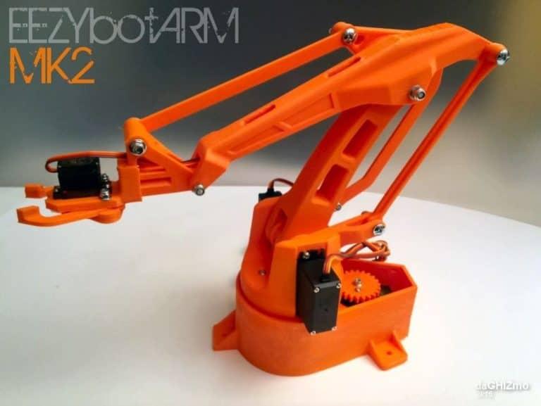 รวบรวม Open Source Robot Arm ที่ผลิตได้เองจาก 3D Printer