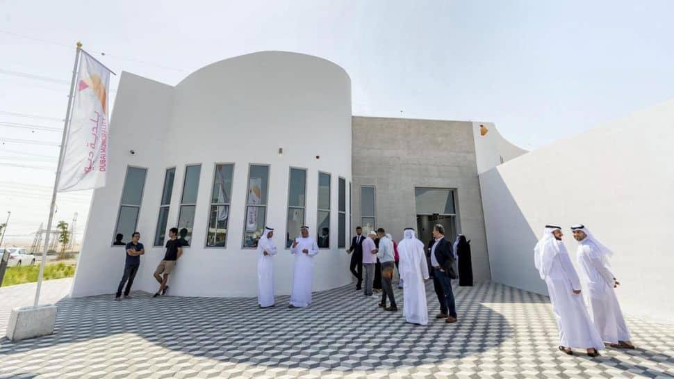 largest 3D-printer building in Dubai