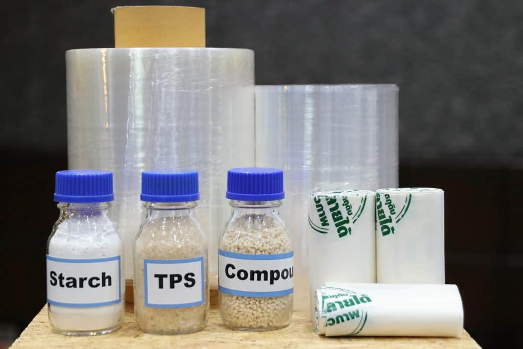 thermoplastic starch products