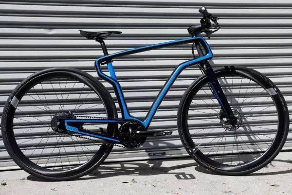 3D printing carbon fiber frame bike
