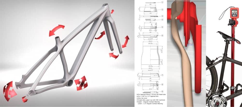 Bike frames 3d printing