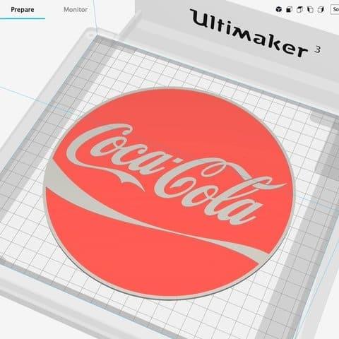 Coca cola 3d printer
