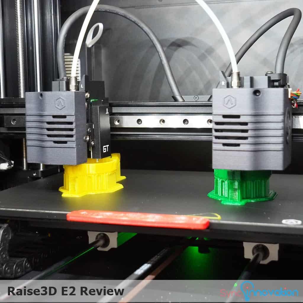 รีวิวเครื่อง Raise3D E2 3D Printer รุ่นใหม่ล่าสุดกับระบบ 2 หัวฉีดอิสระ (IDEX)
