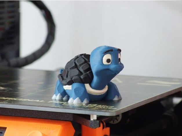 TURTLE dual extruder 3D printer