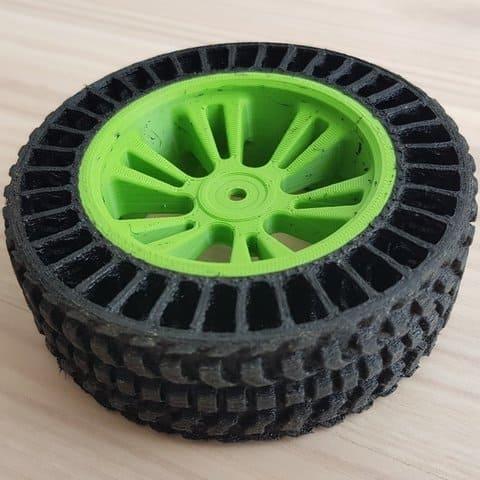 wheel rc car 3d printing