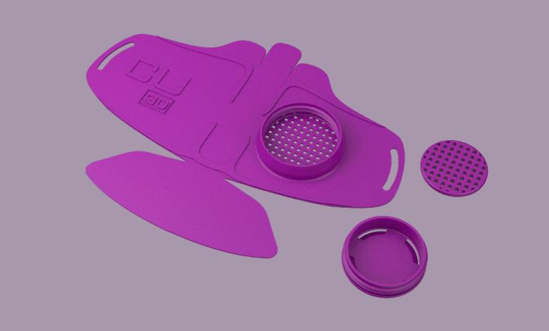 COVID-19 mask 3d printer