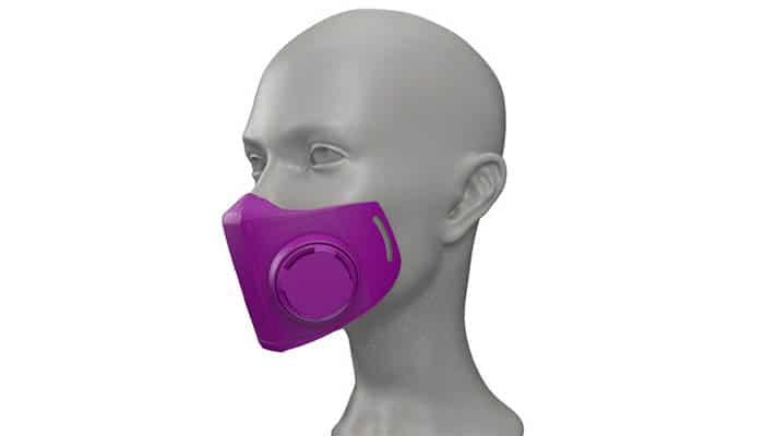 หน้ากากป้องกันเพื่อสุขอนามัย Mask 3D Printing