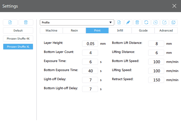 Manual การใช้งานเครื่อง Phrozen Shuffle XL