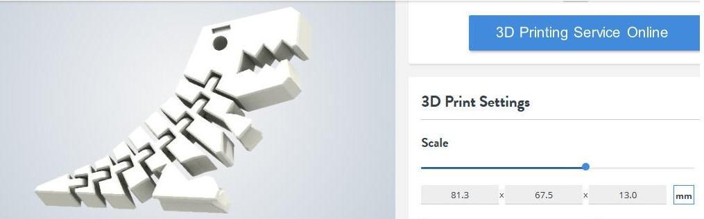 size sample FDM 3d printing