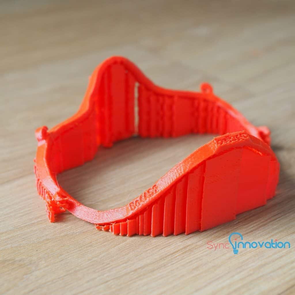 แนะนำวัสดุและเทคโนโลยี 3D Printer กับ Bellus Mask Fitter
