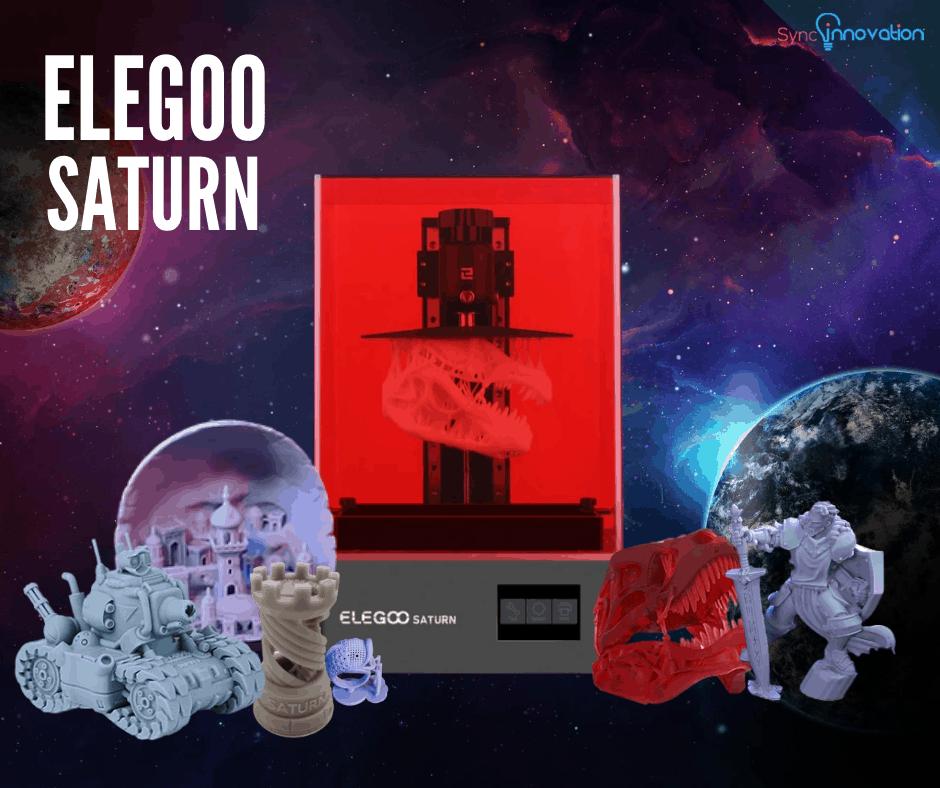 Elegoo Saturn 3d printer