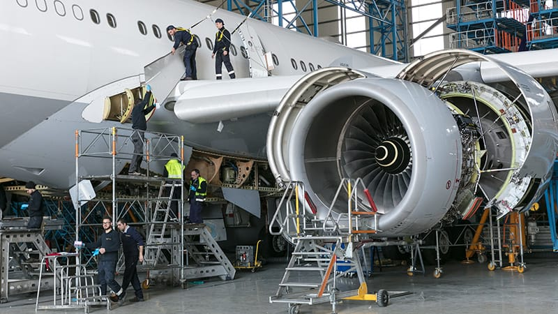 Maintenance and repair aerospace 3d printing