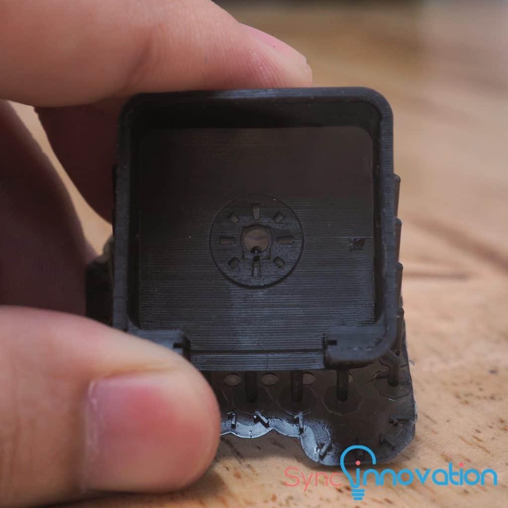 Tough Resin 500 CC Matte Black Color