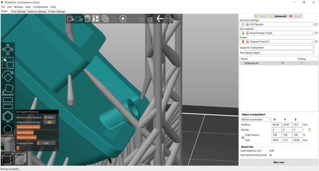 Free Slicer สำหรับเครื่อง Resin 3D Printer
