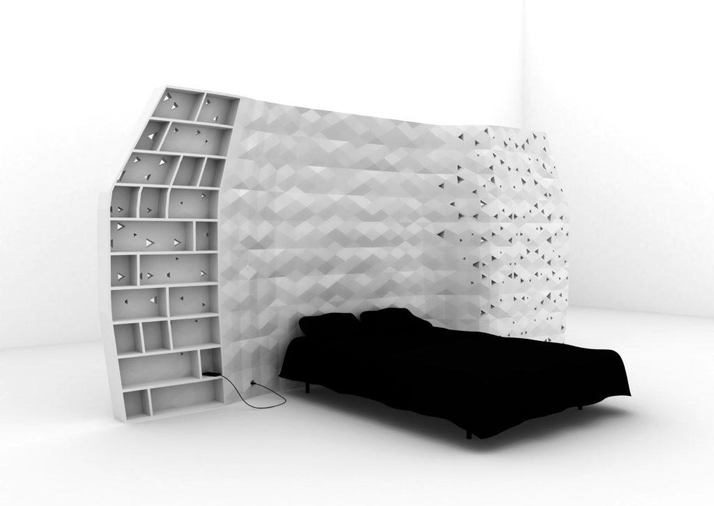 storage wall 3d printing