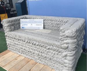 concrete sofa 3d printing